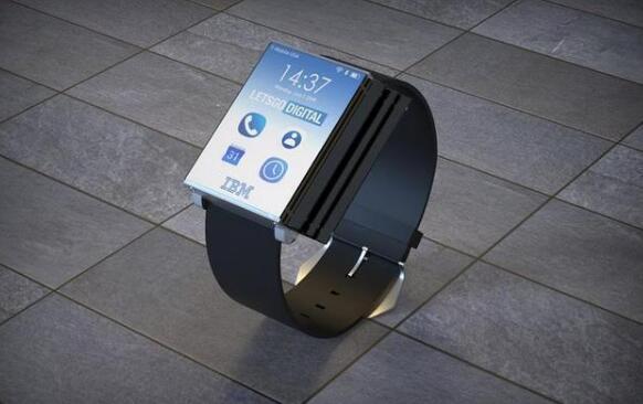 折叠屏智能腕表,8块小屏摊成一块平板电脑