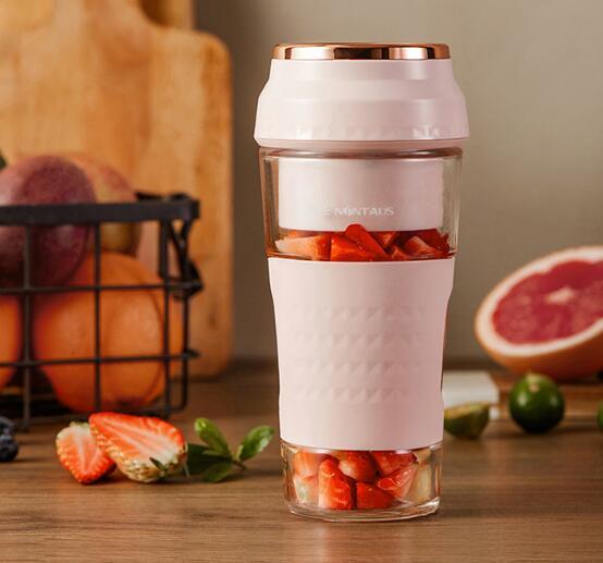 818苏宁发烧节 便携式榨汁机让你果汁想喝就喝