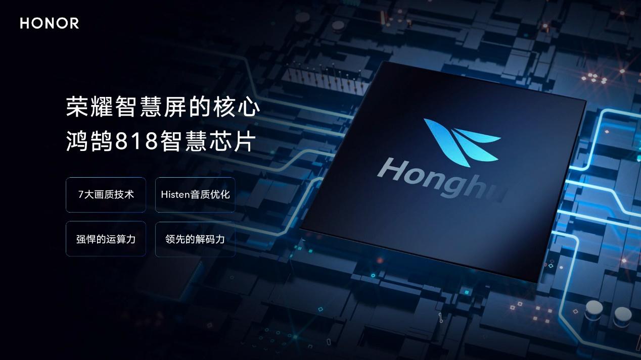 荣耀赵明GMIC公布智慧屏将搭载鸿鹄芯片、升降式摄像头