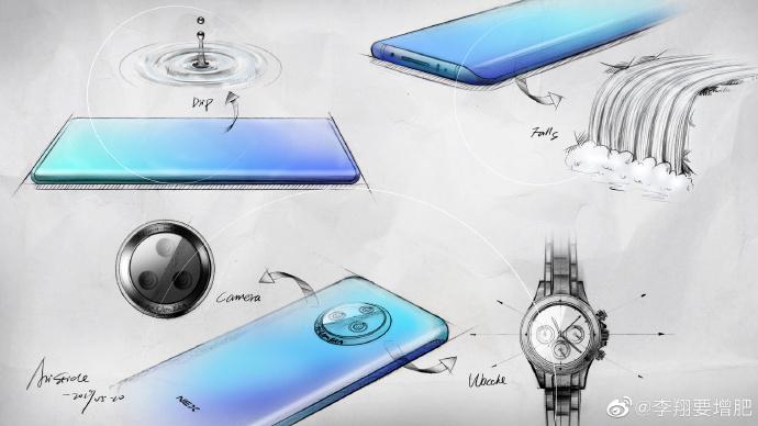 侃哥:vivo官宣全新NEX设计图;小米第二款5G手机将发