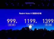 科技来电:首发6400万像素四摄红米Note8 Pro 售价1399元起