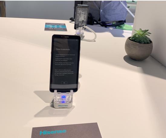 海信多款手机新品亮相IFA,护眼阅读功能受欢迎