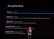 苹果发布了新一代的A13仿生芯片  公然挑战三星 、华为和谷歌