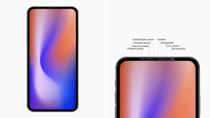 侃哥:明年的iPhone真能剪掉刘海吗?2020款iPhone渲染图曝光
