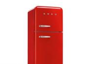 十一搭载中国红  拥有一款双门的复古冰箱