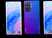 瀑布屏或2020年井喷  多款手机将搭载瀑布屏