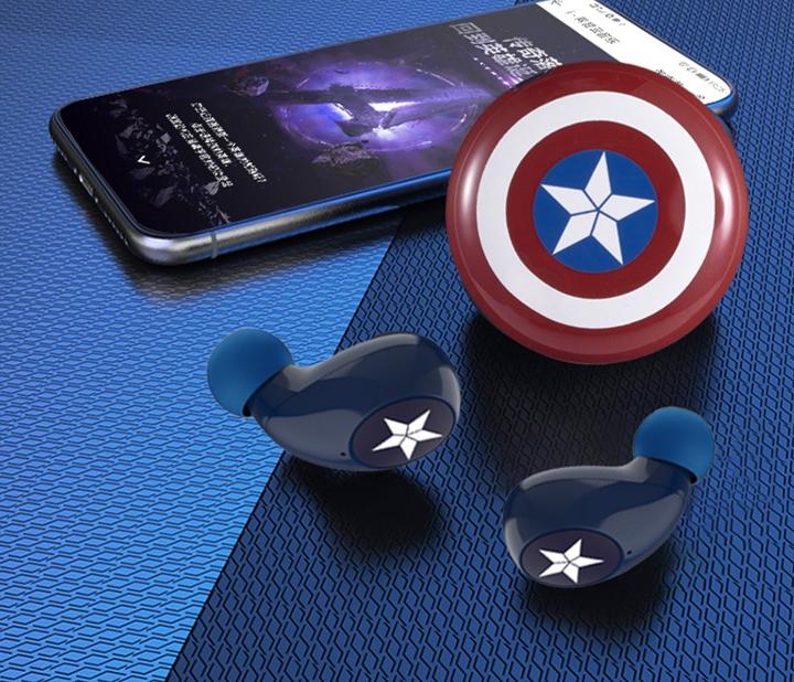 被复联超级英雄感动 有真无线蓝牙耳机相伴