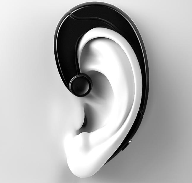 挂耳式骨传导蓝牙耳机  还原清晰的声音