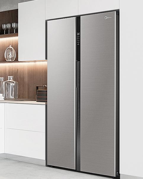 有500多升的对开门冰箱  疫期囤货也不怕
