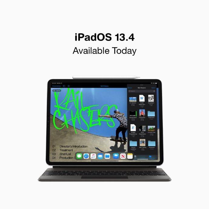 Apple推送iOS/iPadOS 13.4正式版系统