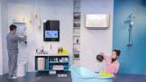 宝宝洗澡顾虑多?海尔水联网:热水、暖房、除湿全解决