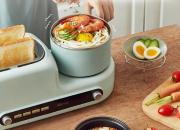 元气满满的一天  多功能早餐机专为懒床打造