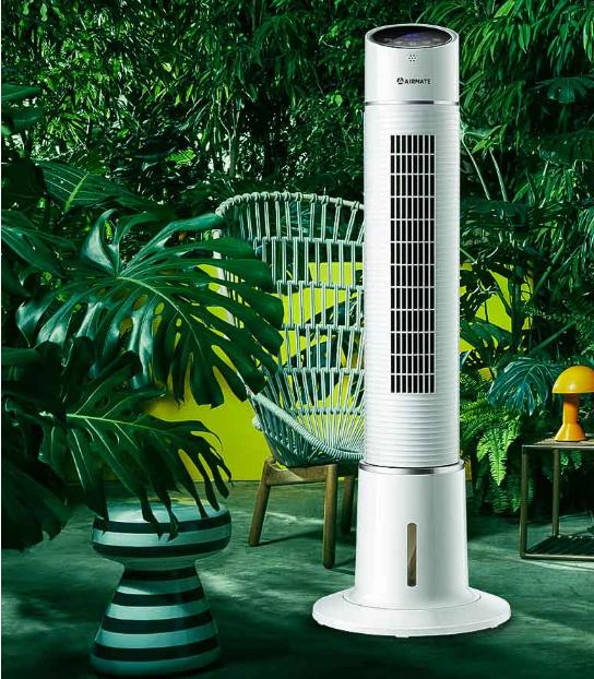 酷热的夏季 空调扇给你不一般的享受