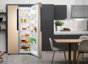 600多升变频对开冰箱,净化养鲜绿色分储