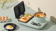 小熊多功能早餐机   让你轻轻松松做出多种美味的早餐
