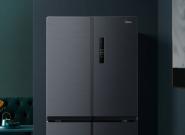 高颜值养鲜,400多升十字对开门冰箱有鲜又有型