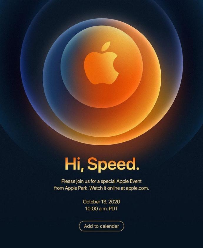 """侃哥:Apple特别活动邀请函""""Hi,Speed.""""在暗示什么?"""