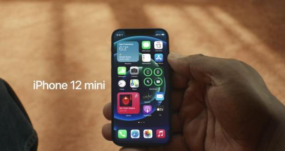 苹果 iPhone 12 mini 5499元   全球最小5G手机