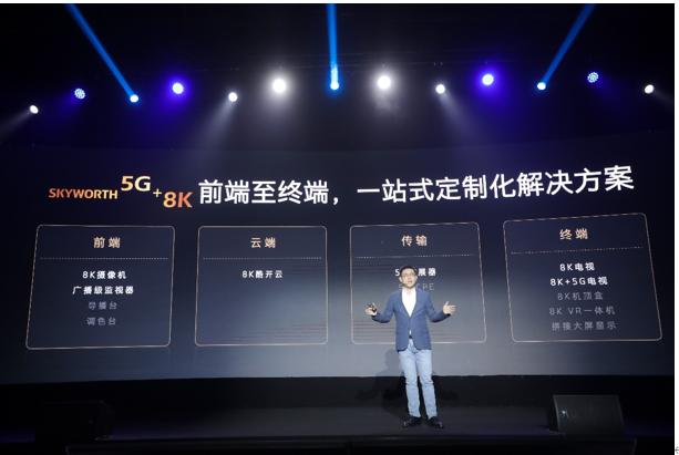 """参与国家级重点项目落地 创维电视""""5G+8K""""开启新一轮技术革命先河"""