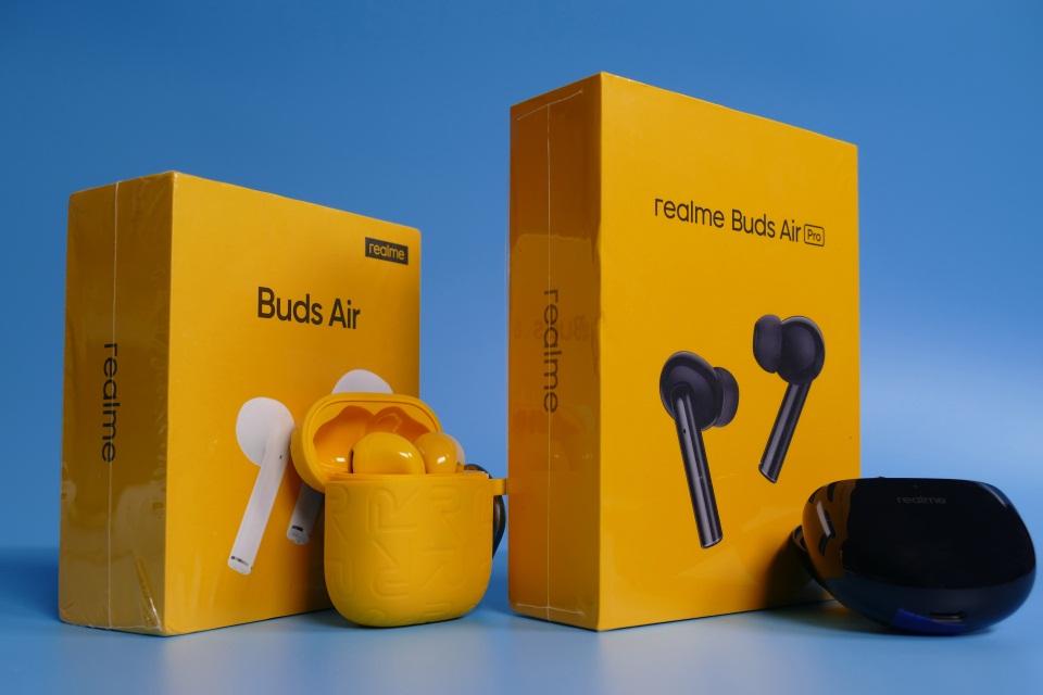 realme Buds Air Pro TWS无线降噪耳机图赏