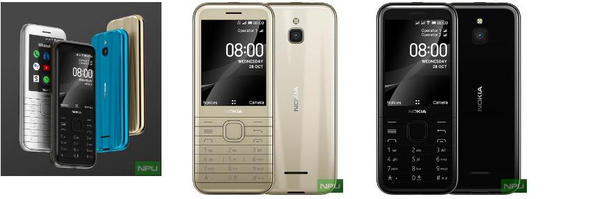 诺基亚6300 4G和诺基亚8000 4G现已正式上市