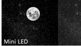 """创维首款鸣丽屏电视Q70 看着""""不发光""""的黑夜上挂着一轮明月"""