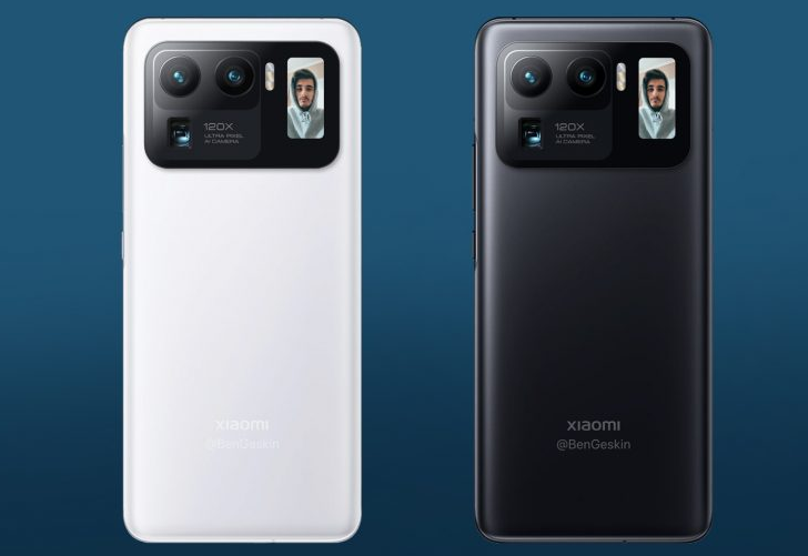 小米 11 Ultra    带有第二个屏幕 支持120倍数码变焦