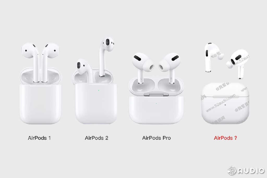 侃哥:AirPods 3真的要来了 苹果再一次引领行业