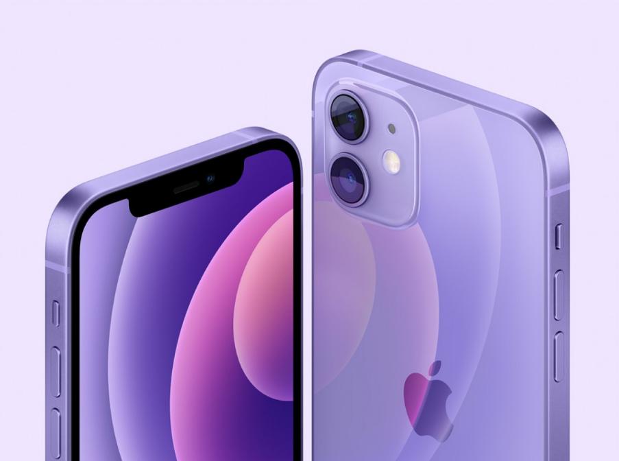 紫气东来新配色   iPhone 12/12 mini 4月23日20:00预购