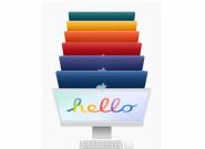 七彩斑斓的新iMac终于来了  iMac 7核图形处理器版9999元起
