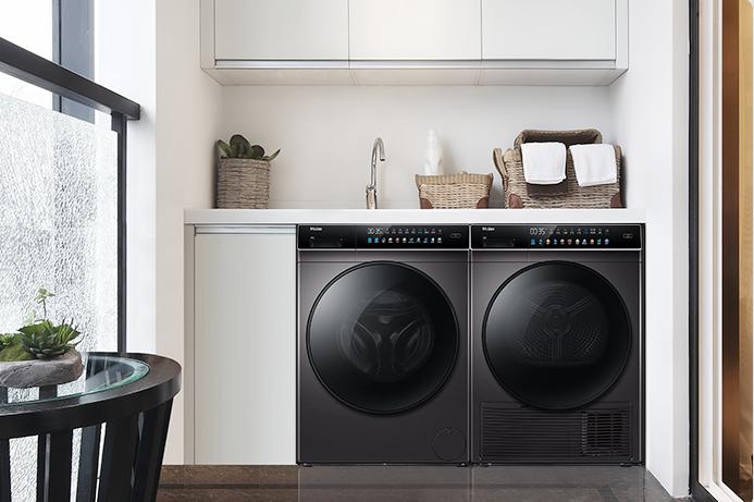 洗烘套装  洗衣+烘干相互独立 各司其职