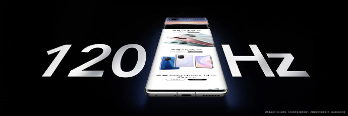 BOE(京东方)独供荣耀Magic3新一代柔性OLED屏